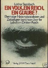 Lothar Steinbach - Ein Volk, ein Reich, ein Glaube