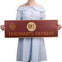 Harry Potter 9 3/4 Platform Poster Vintage Wall Kraft Paper Home Decoration US