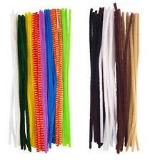 Chenille Limpiadores De Pipa Artesanal Premium 30cm X 6mm colores mezclados aprox 100