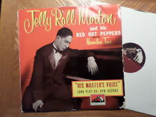 """UK HIS MASTER'S VOICE 10"""" 33  LP RECORD /JELLY ROLL MORTON /NUMBER TWO/VG+/EX"""
