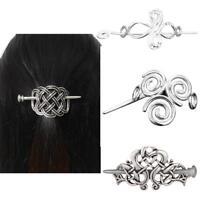 Frauen große Celtics Knoten Crown Haarnadeln Haarspangen Stick Folie Zubehör