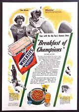 1942 Felix Adler King of Clowns Ringling Stars photo Wheaties vintage print ad