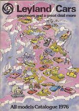 Austin Morris MG Triumph Rover Jaguar Daimler 1976-77 UK Market Sales Brochure