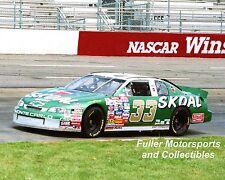 KEN SCHRADER 1997 SKOAL BANDIT #33 8X10 PHOTO NASCAR WINSTON CUP MARTINSVILLE