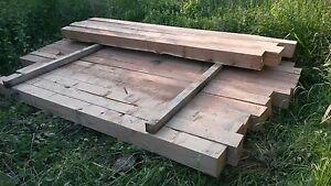 Eichenkantholz 20x20, Eichenbalken 20 x 20 Fachwerk aus Eiche, 2 m lang