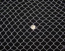"30' x 7' Golf Barrier Backstop Baseball Cage / Pond Netting Nylon 3/4 "" #7"