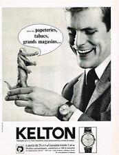PUBLICITE   1974    KELTON  montre homme