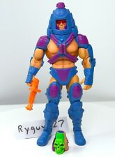 MOTUC, Man-E-Faces, figure, Masters of the Universe Classics, complete, gun part