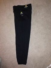 New Easton Mens Softball Medium Baseball Black Pants