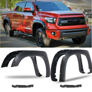 4PCS Car Fender Flares Wheel Cover For Toyota 2014-2017 Tundra Limited TRD PRO