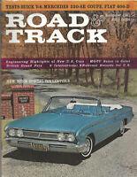 Vintage ROAD & TRACK Magazine November 1961 Issue Mercedes, Fiat, Buick