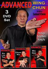 Advanced Wing Chun Vol-9-10-11 (3 Dvd Set)
