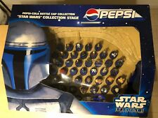 """Pepsi Star Wars Episode II Bottle Cap Collection Stage """" Attack of the Clones """""""