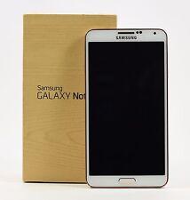 OPEN BOX- Samsung Galaxy Note 3 GoldWhite N9005 (FACTORY UNLOCKED) 5.7'' FULL HD