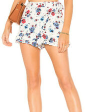 Free People Womens Flirting Fleurs OB752733 Shorts Relaxed White Size US XS