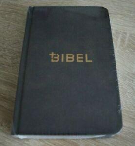 Die Bibel - Schlachter 2000 - Miniaturausgabe - fester Einband Antikleder-Optik