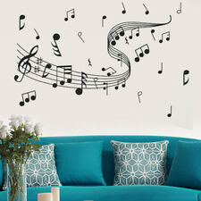 EG_ REMOVABLE MUSIC NOTES WALL STICKER ART DECAL ROOM HOME DECOR 60cm x 100cm ST