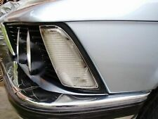 BMW E21 CLEAR TURNING SIGNAL LENSES LEFT AND RIGHT SIDE WITH BULBS...NEW..