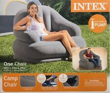 Intex Inflatable Lounge Chair Armchair Couch Outdoor Camp Yard Lake Beach Kid