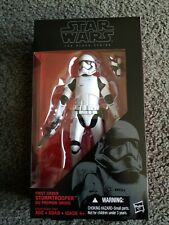 Star Wars The Black Series First Order Stormtrooper 2015 Hasbro