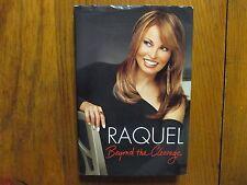 RAQUEL WELCH Signed 3 x 5 Index Card with book(RAQUEL WELCH-2010 1st Edit Hardba