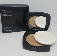 Arbonne Sheer Pressed Powder 10g shade  Dark New Boxed