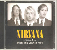 "NIRVANA ""Selections from WITH THE LIGHTS OUT"" acétates PROMO CD"