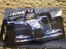 original Aguri Suzuki Autogramm 20x30 Ligier