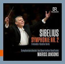 SIBELIUS: SYMPHONIE NR. 2; FINLANDIA; KARELIA-SUITE NEW CD