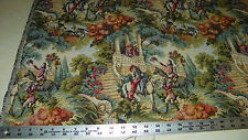 Romeo and Juliet Print Tapestry Upholstery Fabric  1 Yard