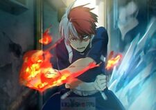 Poster A3 Boku No Hero Academia Todoroki Shoto Manga Anime Cartel 08