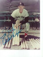 Walt Dropo Boston Red Sox Autographed  8X10 PHOTO - 1950 A/L Rookie of thje Year