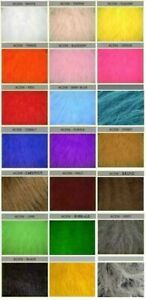 Luxury Long Haired Faux Fur Fabric - Multiple Lengths & Colours - AC 356 / YF56