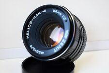 KMZ HELIOS-44K-4 SLR 58mm 1:2 Russia Portrait lens Pentax K mount EXC