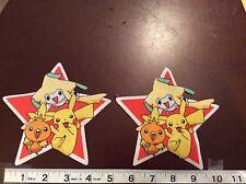 Pokemon Fabric Iron On Appliques (style# 5)