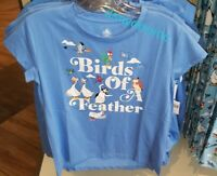 Disney Parks BIRDS OF A FEATHER Tshirt! Hei Hei Scuttle Penguin NEW 1X 2X 3X