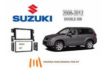 NEW Fits 2006-2012 SUZUKI GRAND VITARA Car Stereo Double DIN Dash Kit, Tool Set