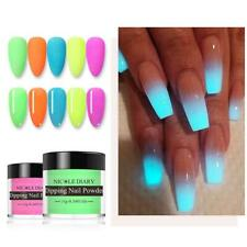 NEON professional false fake acrylic NEON multiple colour dipping powders