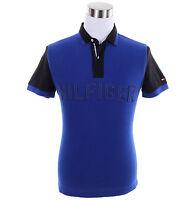 Tommy Hilfiger Men Short Sleeve Logo Solid Custom Fit Pique Polo Shirt - $0 Ship