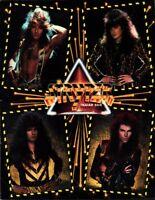 STRYPER 1988 / 1989 IN GOD WE TRUST TOUR CONCERT PROGRAM BOOK BOOKLET / EX 2 NMT