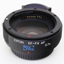 Kipon Baveyes 0.7x Autofocus AF Adapter for Canon EOS EF Lens to Fujifilm X FX