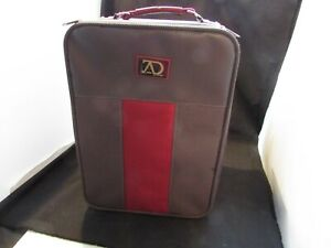Hat Wig Box Travel Case Luggage Carrier Beige BY Adolfo