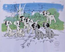 "Disney 101 Dalmatians ""Hopeful Pups"" Limited Edition Sericel Animation Art Cel"