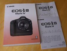 Canon 1D Mark iv, instruction manual (Spanish)