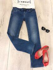 Next Uk8 Petite Jeans Jeggins Straight Slim Fitted Skinny Leg Stretch  Cargo £49