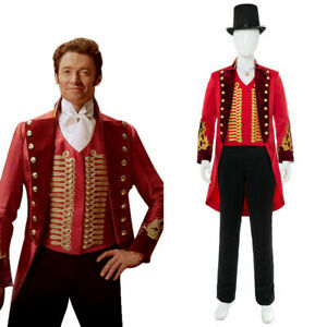 The Greatest Showman P.T. Barnum Halloween Cosplay Costume Outfit Suit Women Men