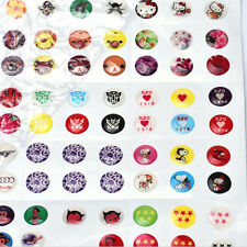 330pcs Love Cartoon Rubber Home Button Sticker for iPhone for ipad Decor