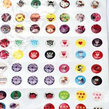 Fashion 330pcs Love Cartoon Rubber Home Button Sticker for iPhone for ipad Decor