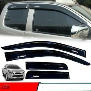 12+ Isuzu D-Max Dmax Holden  Space Cab Weather Protect Guard Visor Windshield