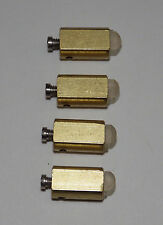 Hermle 1161 451 461 Grandfather Clock Hammer Tip Chime Strike Part USED SET OF 4